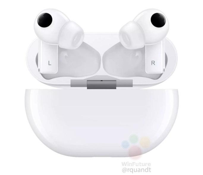 FreebudsPro true wireless headset white