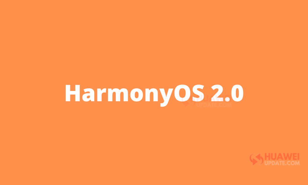 HarmonyOS 2.0 Roadmap