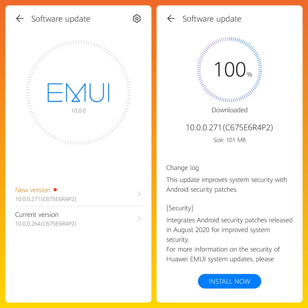 Huawei Y9 Prime 2019 EMUI 10.0.0.271