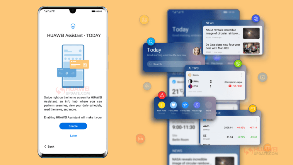 Huawei Assistant App New Features
