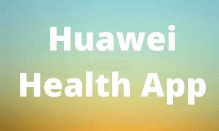 Huawei Health App - HU