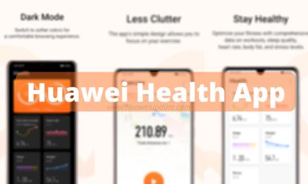 Huawei Health App update latest
