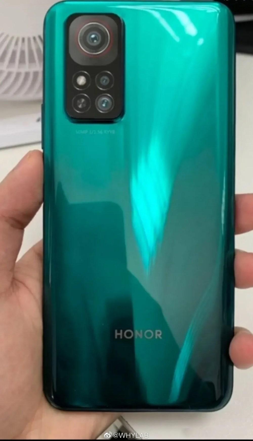 Honor V40 5G rear camera leak