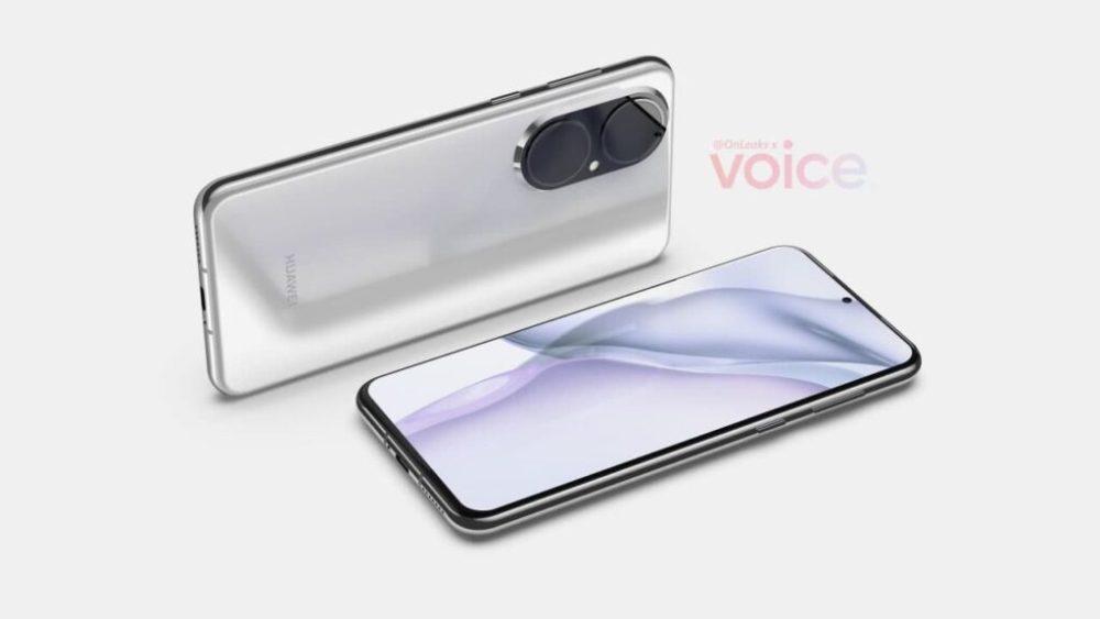 Huawei P50 render 3