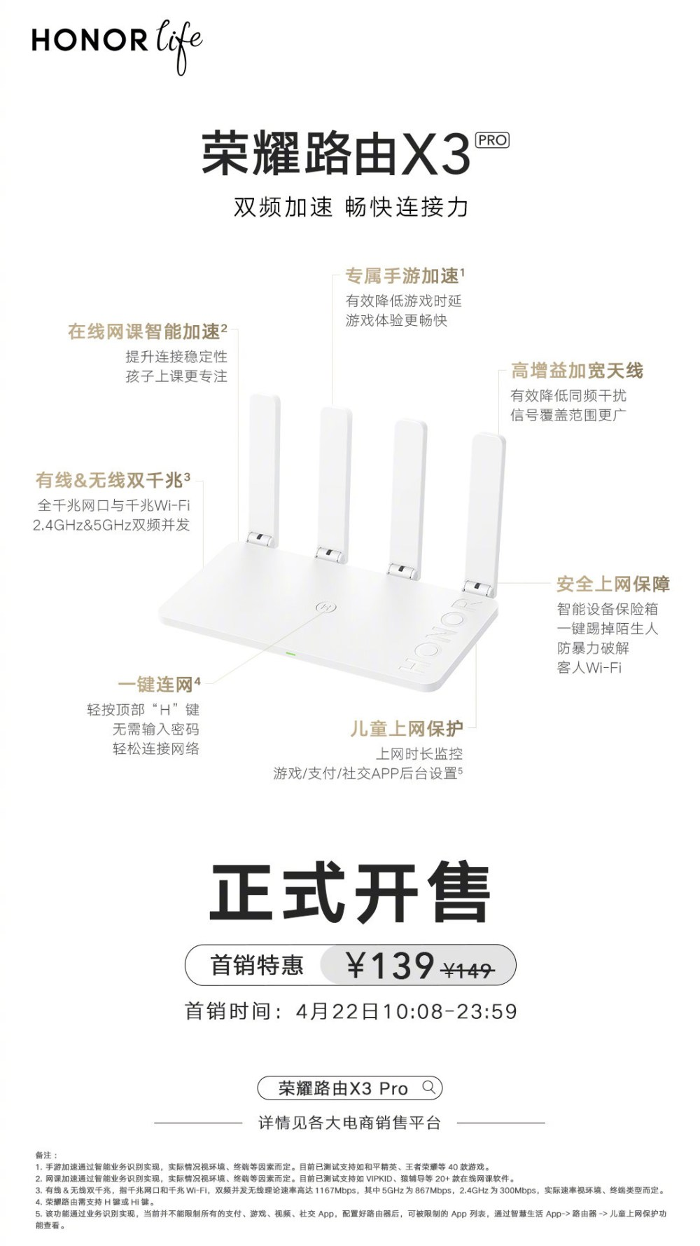 Honor Router X3 Pro 2021