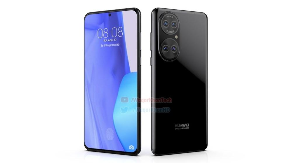 Huawei P50 new render