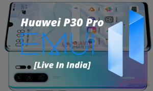 Huawei P30 Pro Stable EMUI 11 Update India