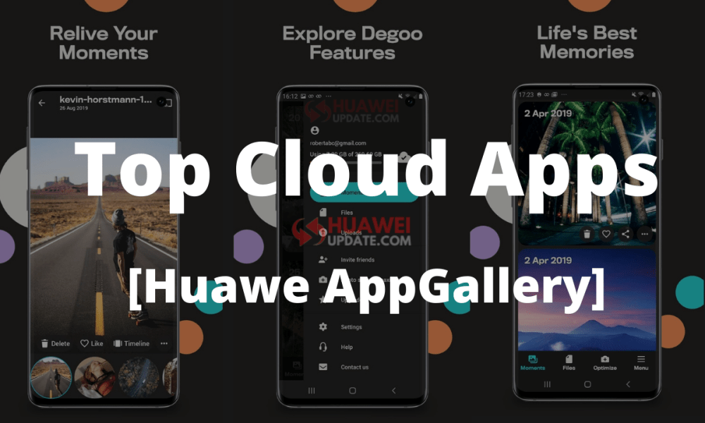 Top Cloud Apps - Huawei AppGallery