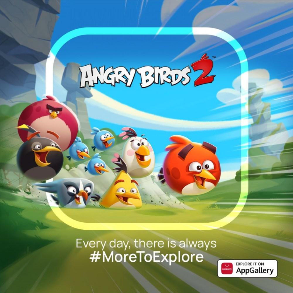 Rovio and Huawei Partner - Angry Bird