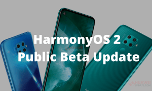 HarmonyOS 2 public beta update