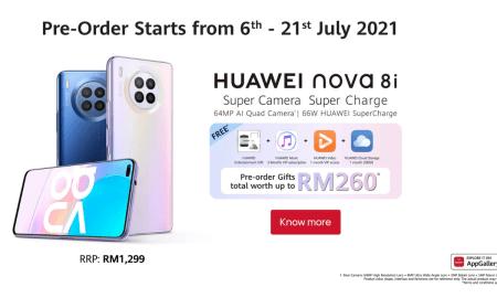 Huawei Nova 8i Malaysia