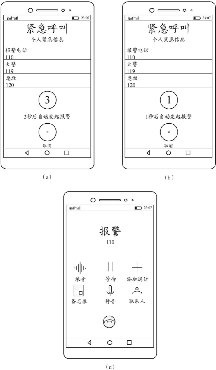 Huawei published a patent related for mobile phone automatic alarms