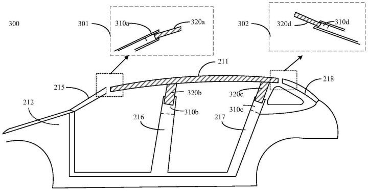Huawei publishes a patent for Roof Adjustment System-1