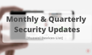 Monthly and Quarterly security updates -HU