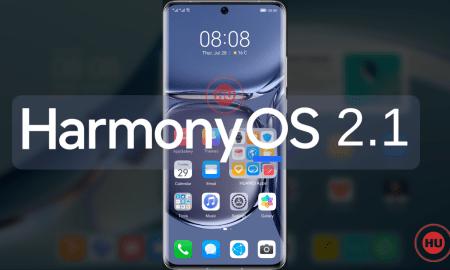 HarmonyOS 2.1 P50