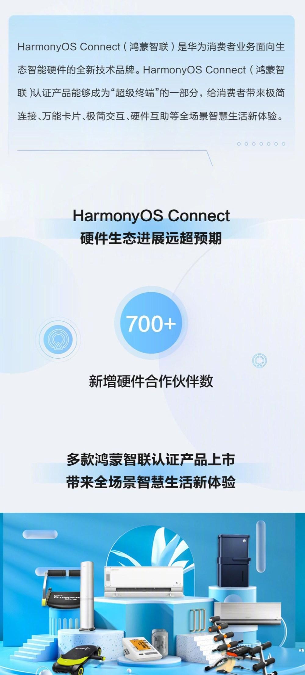 HarmonyOS connect 700 partners