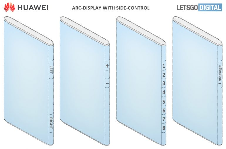Huawei Mate 50 with Arc display concept image 1- LetsGoDigital