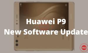 Huawei P9 New Software Update