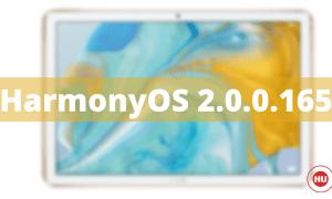 MediaPad M6 Series HarmonyOS 2.0.0.165