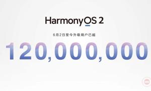 HarmonyOS 2.0 120 million devices