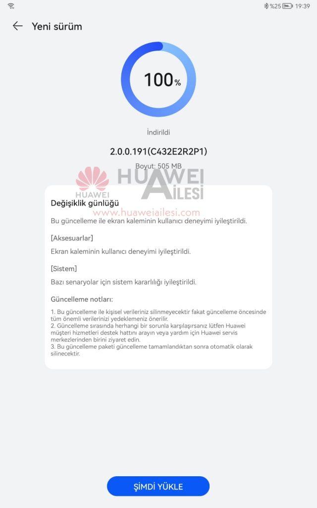 Huawei MatePad 11 HarmonyOS 2.0.0.191