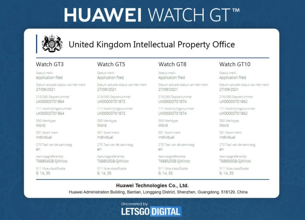 Sony files lawsuit against Huawei over Watch GT smartwatch series image