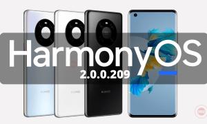 Mate 40E 5G HarmonyOS 2.0.0.209