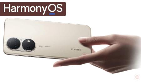 P50 HarmonyOS update