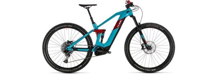 (2) Cube Stereo Hybrid 140 HPC Race 625 29 E-Bike
