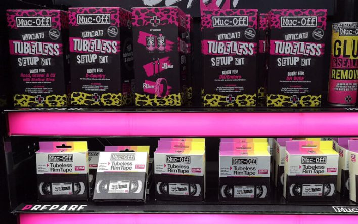 Muc-Off tubeless tyre kit