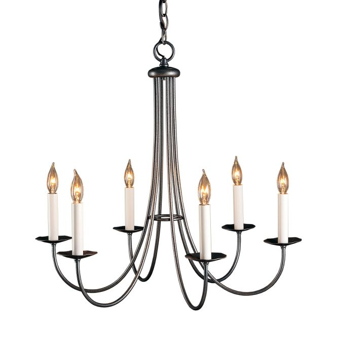 Product Detail Simple Sweep 6 Arm Chandelier