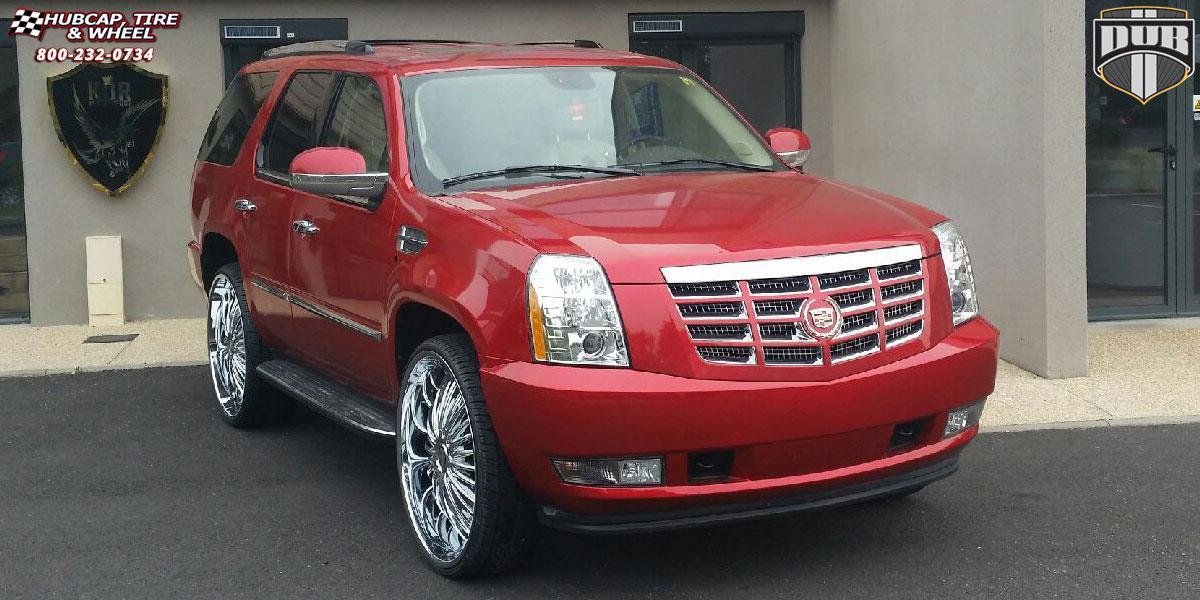 Custom Chrome Rims 2007 Cadillac Escalade