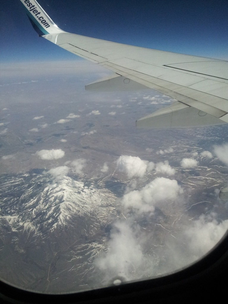 Air picture of mountain in Wyoming