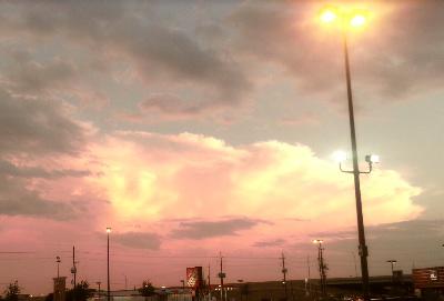 Sky over Houston
