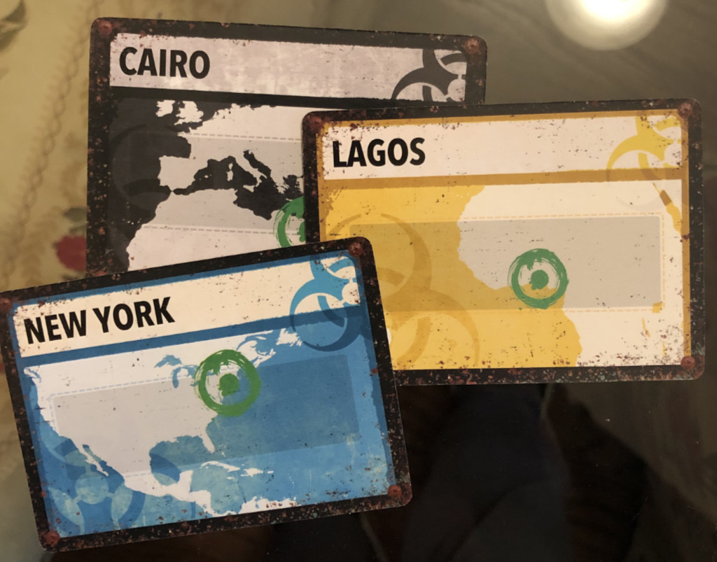 Pandemic Legacy Infection cards