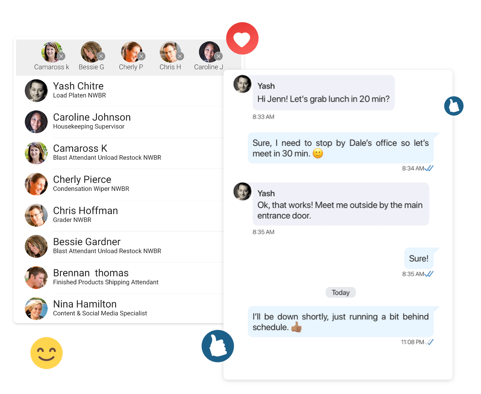 Enterprise-grade instant messaging