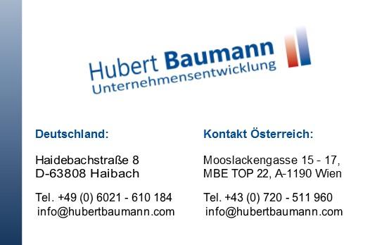Hubert-Baumann Visitenkarten-2014-10-Vorderseite