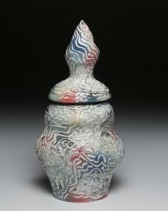 RGB carved jar
