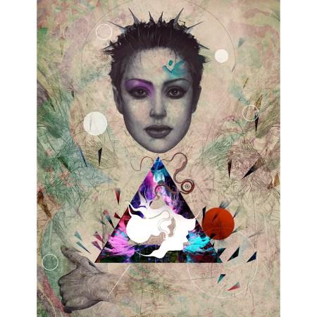 alien print 1 by hubert fine art