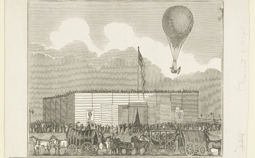 Episode 46: Aeronauts, Ascents, and the Early History of Ballooning in Boston