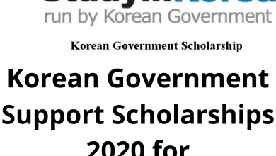Photo of Korean Government Support Scholarships 2020 for Undergraduates – Funded