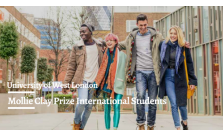 Mollie Clay Prize At The University of West London in the UK