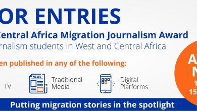 Photo of International Organization for Migration for West & Central Africa Migration Journalism Award (USD 10,000 in cash Prizes)