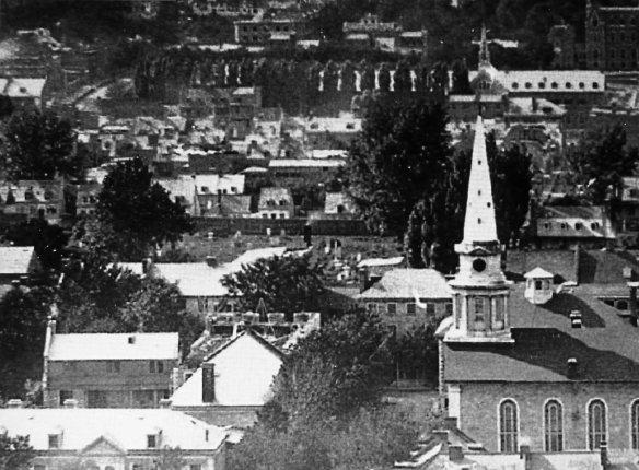 Montréal 1872. Square Dufferin.