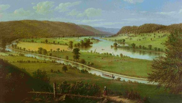 mohawk-river-painting