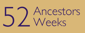 52 ancêtres en 52 semaines est un défi lancé par Amy Johnson Crow. Pour en savoir plus, cliquez sur l'image (site en anglais).