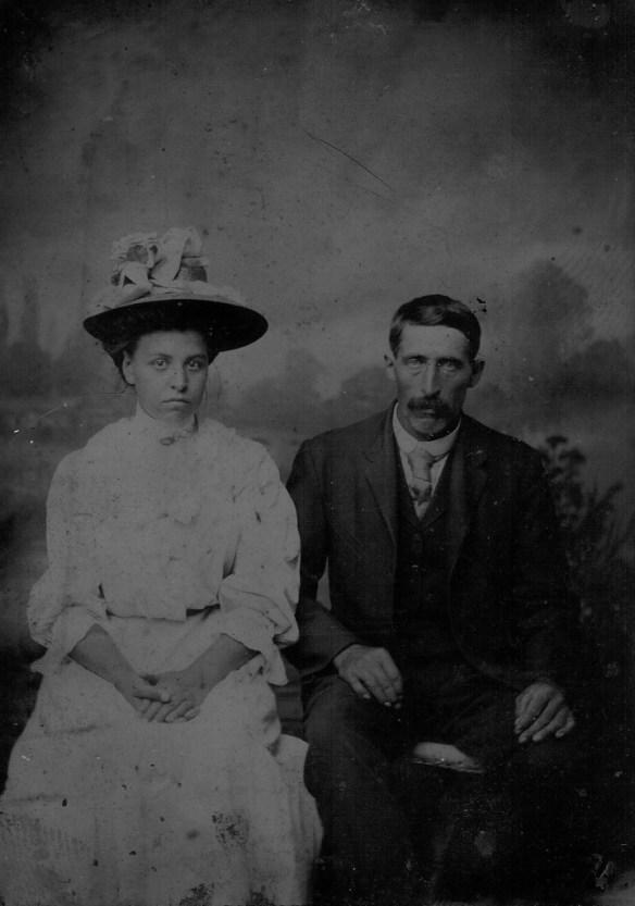 Julia Tourville et William Thomas (1865?)