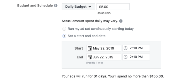 facebook-marketing-budget-e-schedule