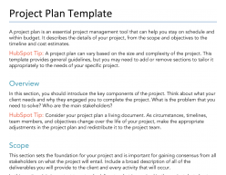The importance of planning a project before you start work is much like looking at map before starting a road trip, or reading the blueprints before trying to build a house. Free Project Plan Template For Pdf Word Google Docs Hubspot