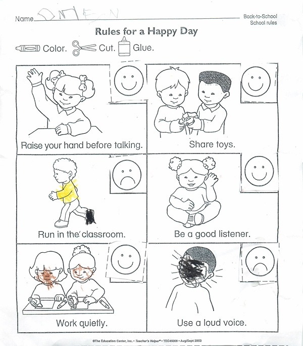 Rules for a happy day